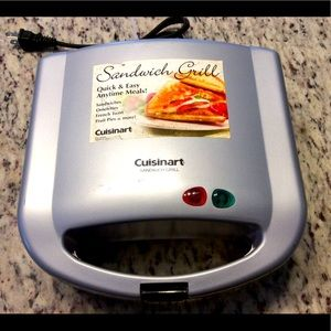 Cuisinart sandwich grill eggs pies French toast